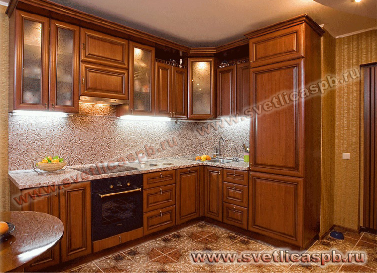Дизайн кухонь из мдф