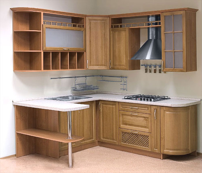 Кухонный гарнитур с барной стойкой своими руками